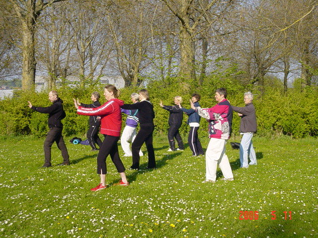 Chi Gong & Tai Chi v/Sanne Andersen